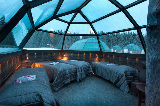 A Room With A View Glass Igloos And Other Innovations