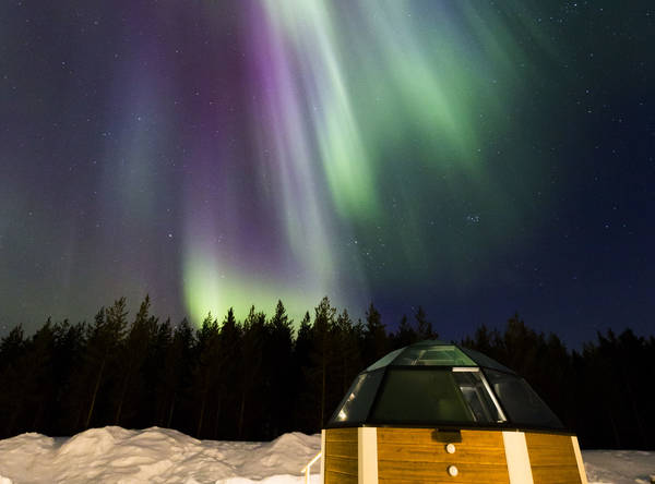 Arctic SnowHotel and Glass Igloo Holiday in Finland Lapland