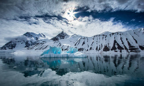 Arctic Spring in South Spitsbergen, Svalbard, Norway