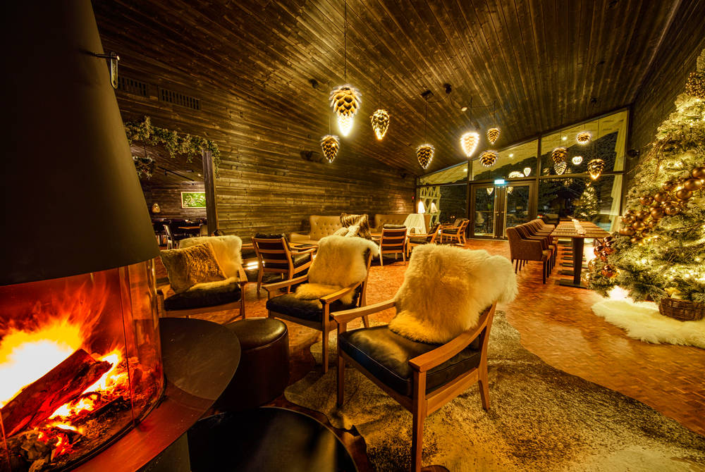 Lounge, restaurant & bar, Arctic TreeHouse Hotel