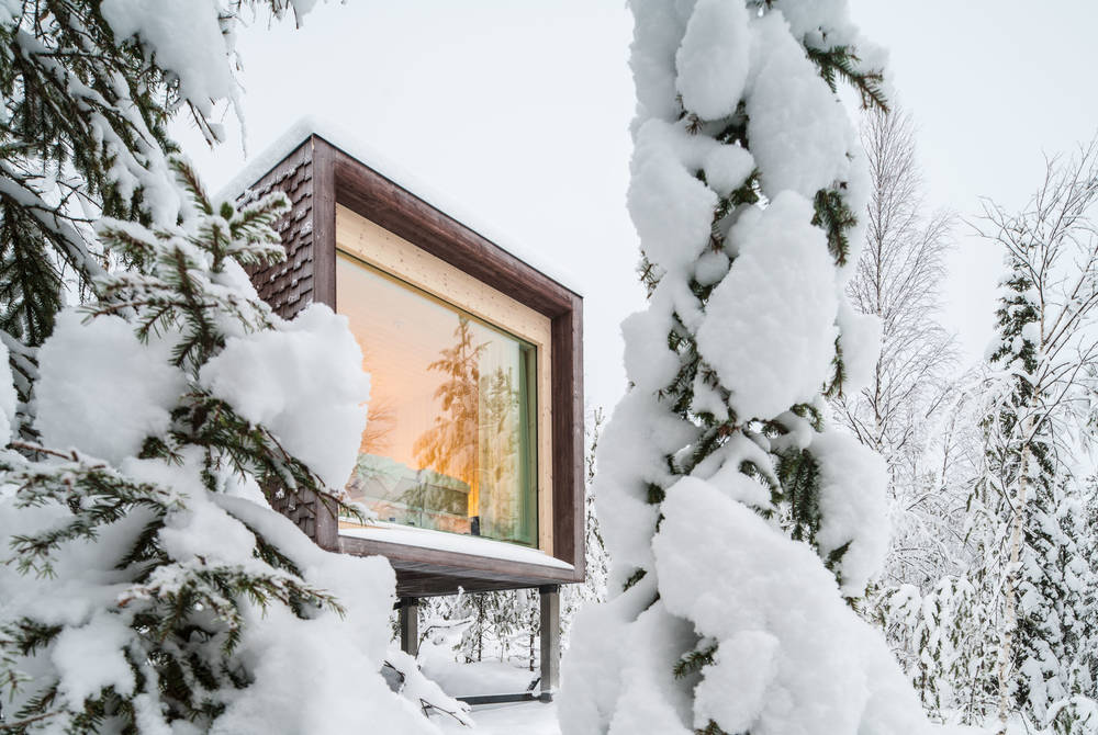 Arctic TreeHouse Hotel outdoor view