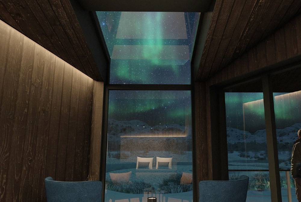 Arctic Wilderness Lodge, Sorrisniva, River Room (rendering)