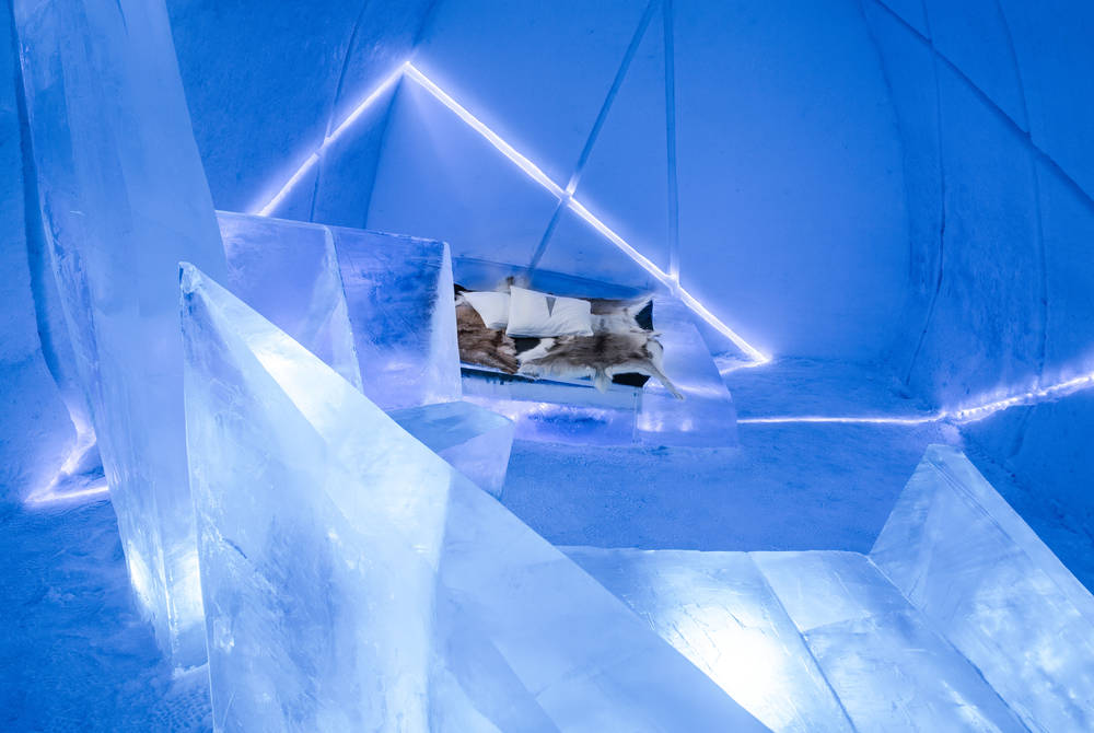 Art Suite, Differential Expansion, ICEHOTEL (Photo: Asaf Kliger)