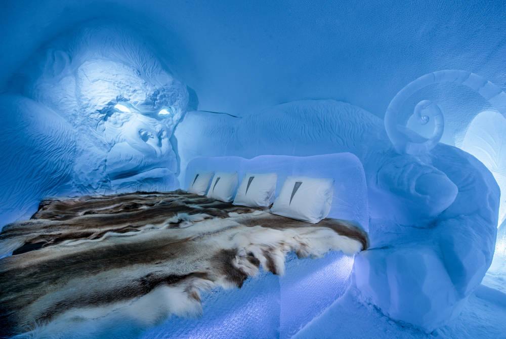 Art Suite King Kong. Design Lkhagvadorj Dorjsuren. Photo Asaf Kliger. © ICEHOTEL
