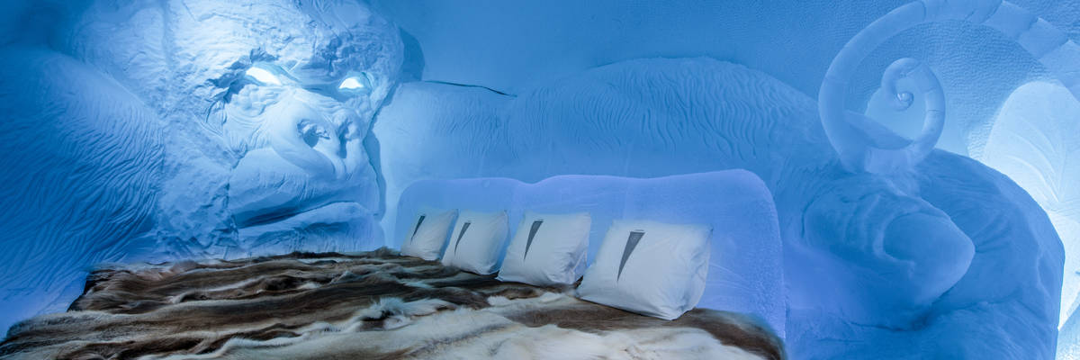 First photos of the new-for-2018 ICEHOTEL