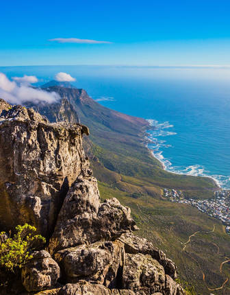 Atlantic Ocean, National Park Table Mountain, Cape Town, South Africa