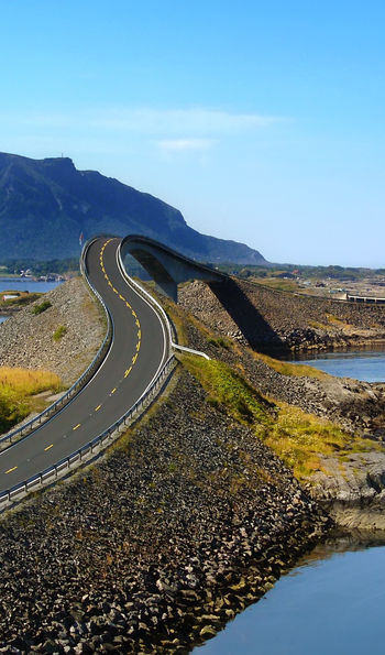 Road-trip along Norway's Atalantic Road
