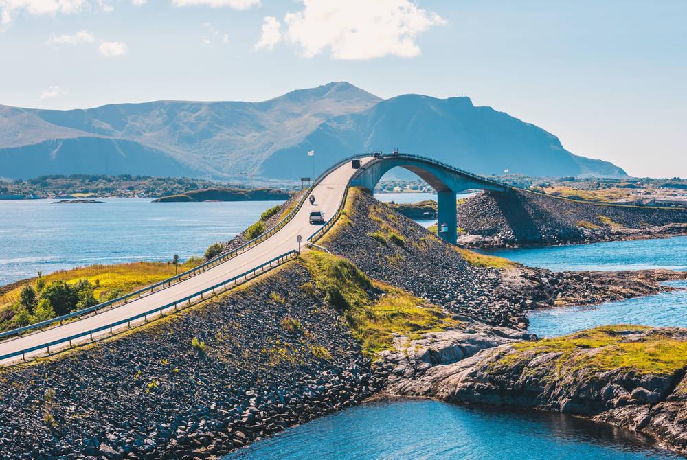 Atlantic Road near Molde