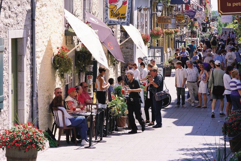 Street outside Auberge St Antoine
