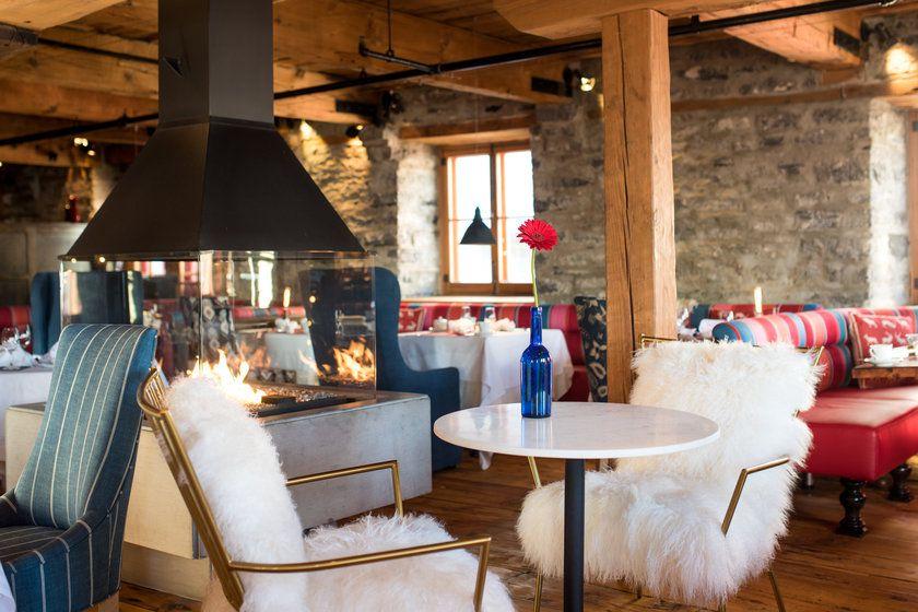 Lounge at Auberge St Antoine