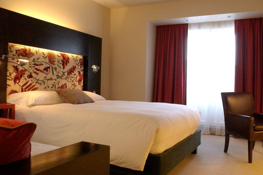 Guets bedroom at Auberge St Antoine