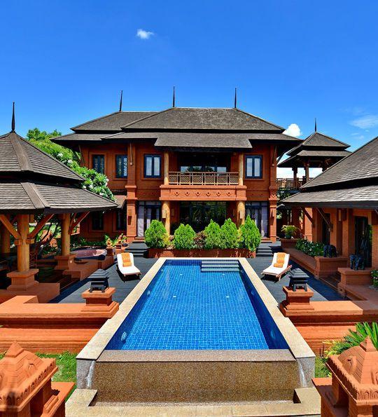 Aureum Palace Hotel, Bagan, Myanmar, Burma