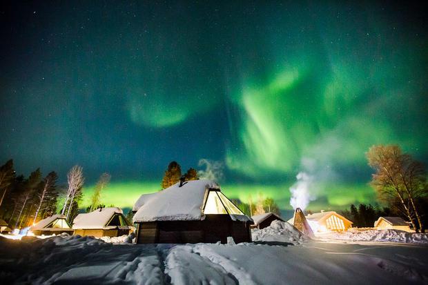 Aurora Cabin at Apukka Resort – one of the best hotels in Lapland