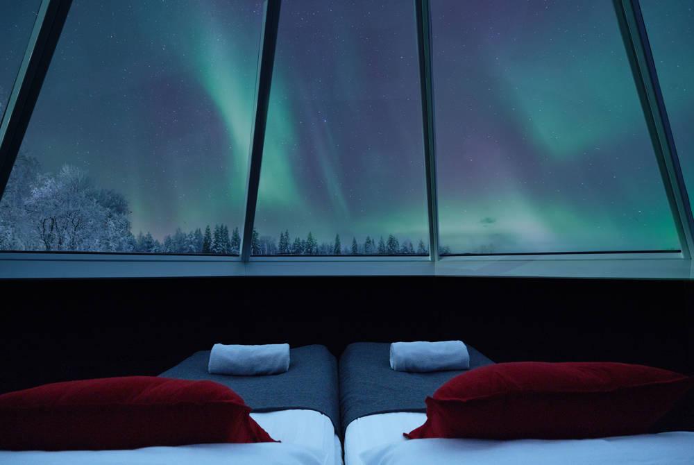 Northern Lights break at Apukka Resort