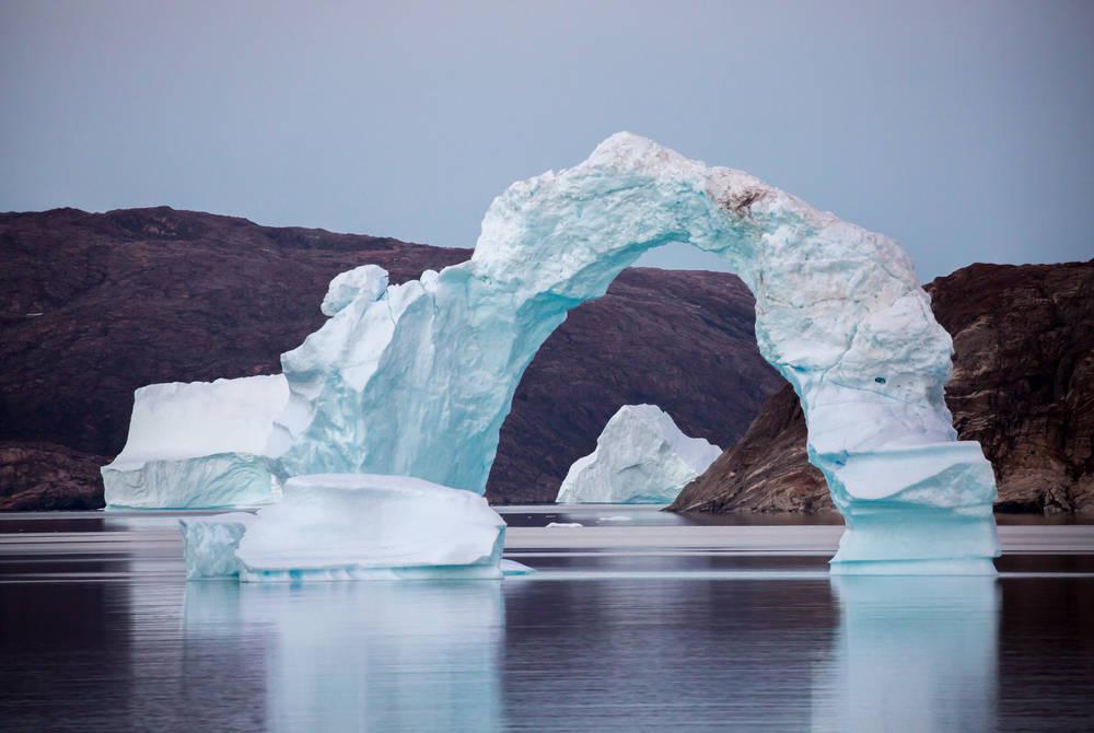 Greenland's east coast