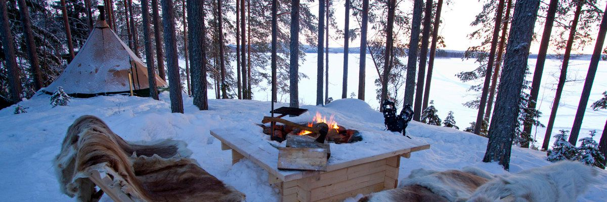 Aurora Safari Camp, Brändön Lodge – Luleå