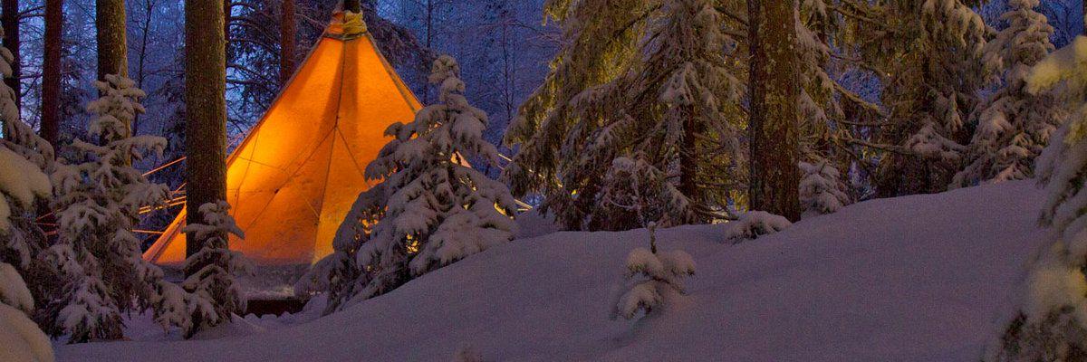 Aurora Safari Camp, Lulea, Lapland, Sweden