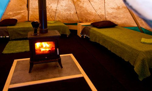 Aurora Safari Camp, Lulea, Lapland, Sweden
