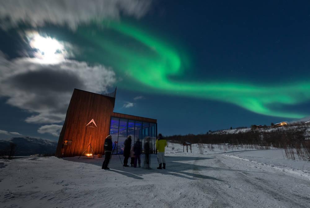 Aurora Spirit Distillery, near Tromso