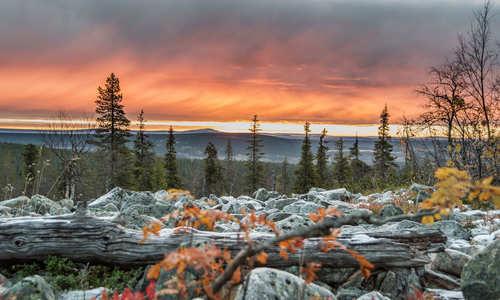 Autumn, Levi, Finland
