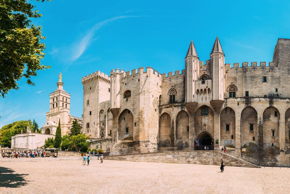 The Palais des Papes, Avignon