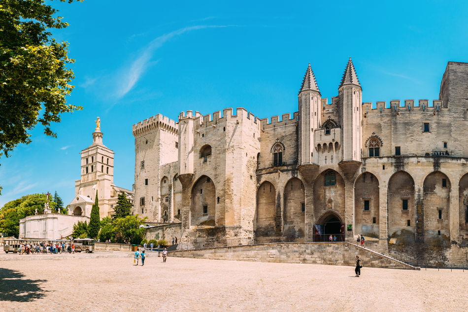 The Papal Palace, Avignon also known as the Palais des Papes