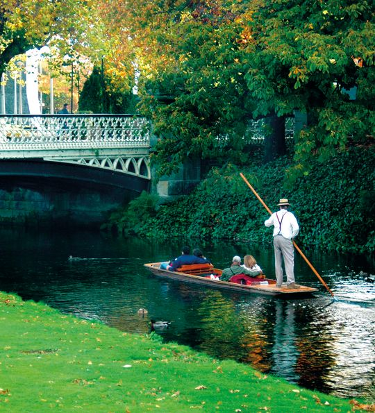 Avon River, Christchurch, South Island, New Zealand