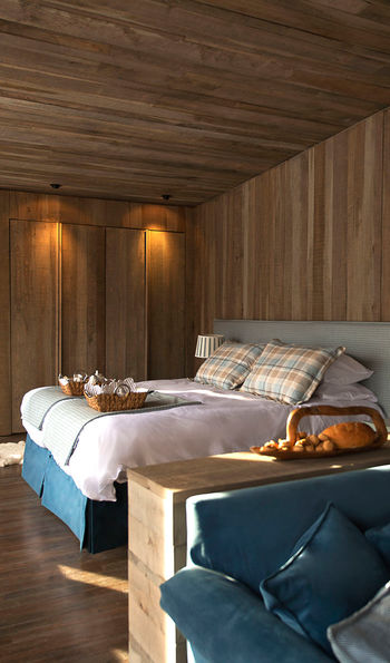 Guest rooms at Awasi Patagonia pair style and comfort