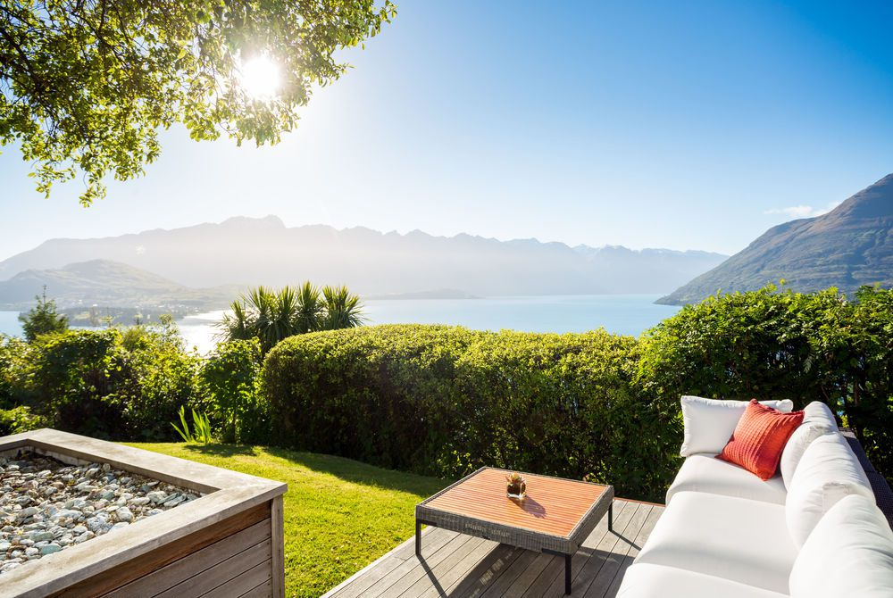 Azur Lodge outdoor view, New Zealand