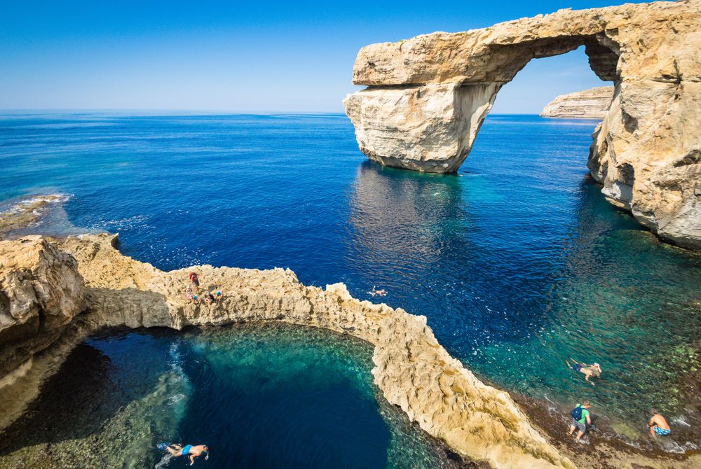 Azure Window, Gozo Island