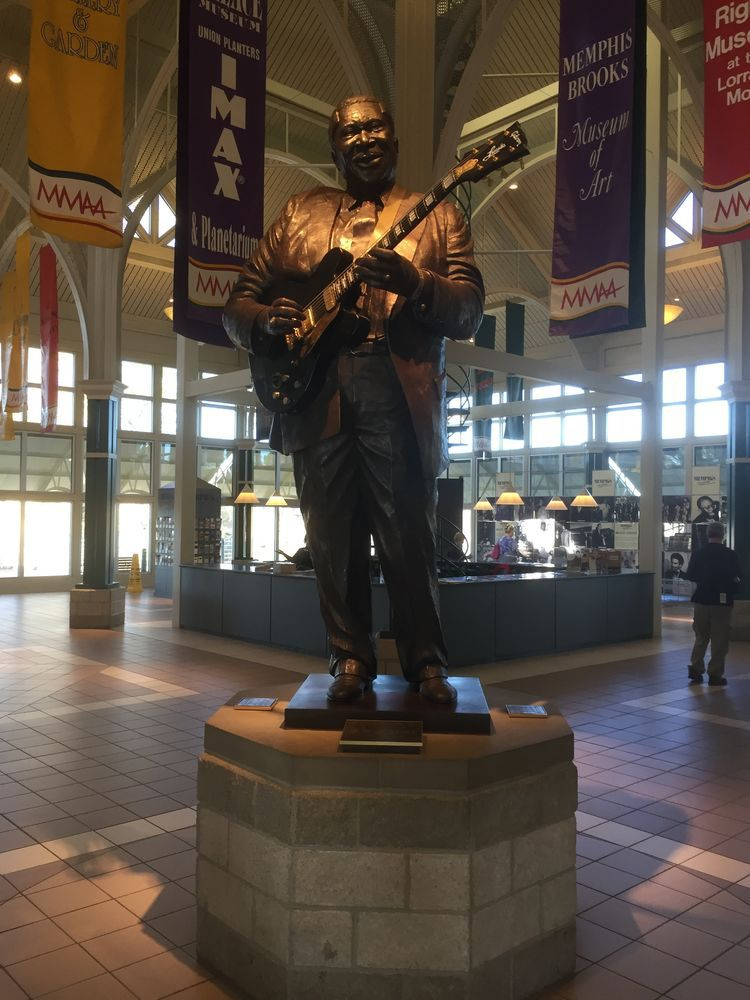 B.B. King Statue in Memphis