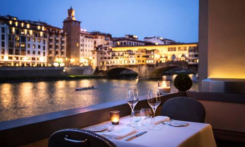 Borgo San Jacopo restaurant, Hotel Lungarno