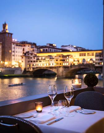 Borgo San Jacopo restaurant, Lungarno Hotel