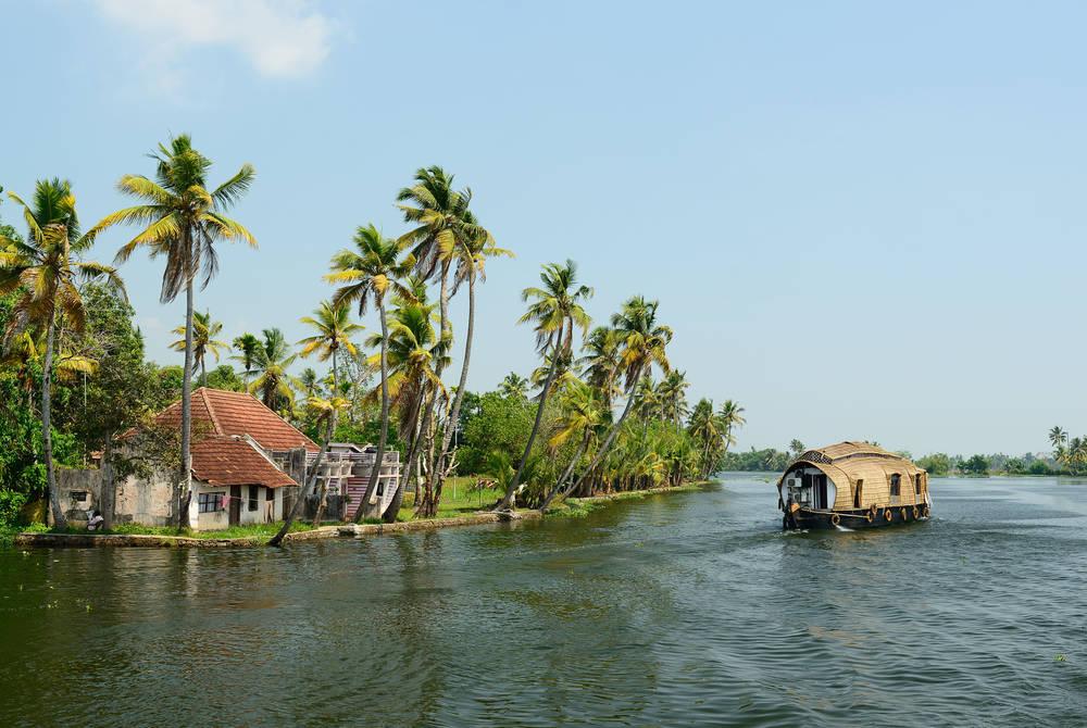 Backwaters near Kumarakom, Kerala