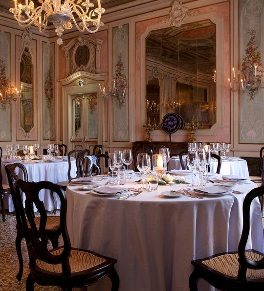 Baglioni Hotel Luna dining room