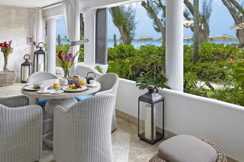 Balcony, Ocean View Suite, Colony Club, Barbados