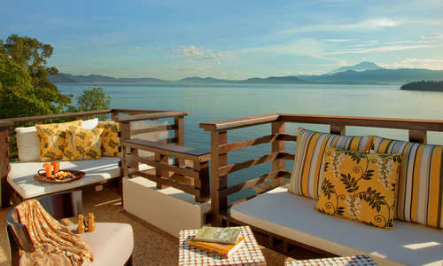 Balcony, Suria Suite, Gaya Island Resort