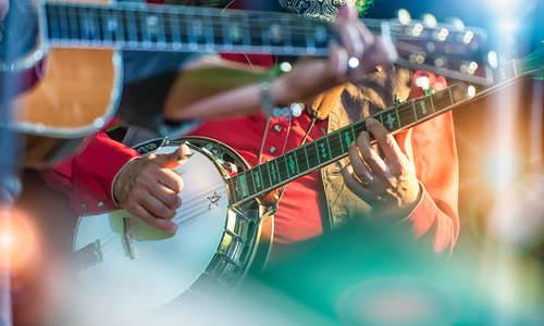 Banjo player, Nashville