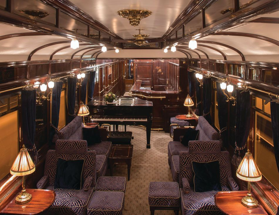 Venice Simplon Orient Express New Bar Car