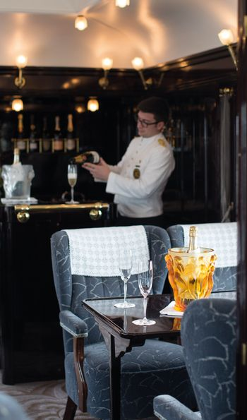 Piano Dining Car, Venice Simplon-Orient-Express