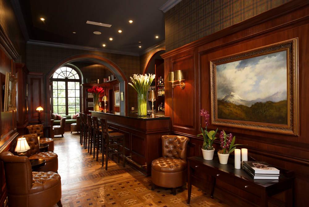 Bar, Casa Gangotena, Quito, Ecuador