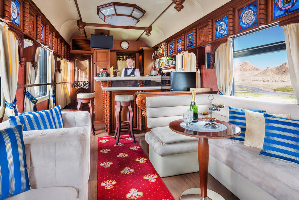Bar Lounge Car, Golden Eagle