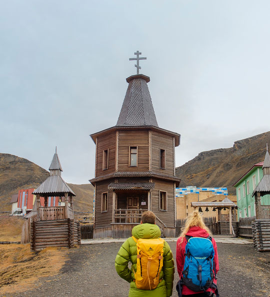 Barentsburg church, Hurtigruten