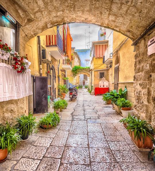 Streets in Bari