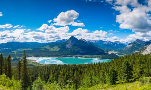 Barrier Lake, Alberta, Canada
