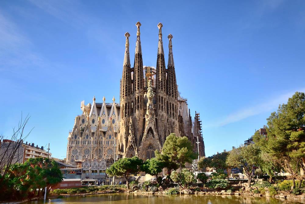 Basílica Sagrada Família, Barcelona, Spain