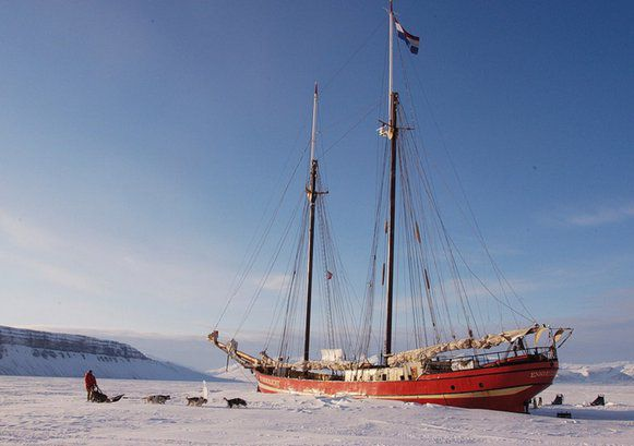 Basecamp, Ship in the Ice, Longyearbyen, Svalberd