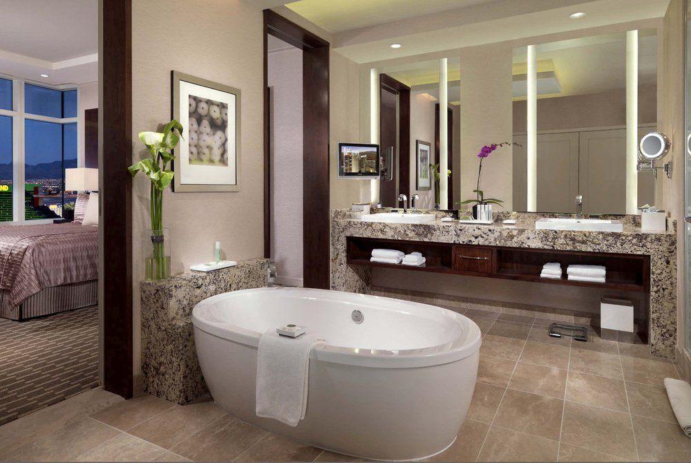 Bathroom, Aria Resort and Casino