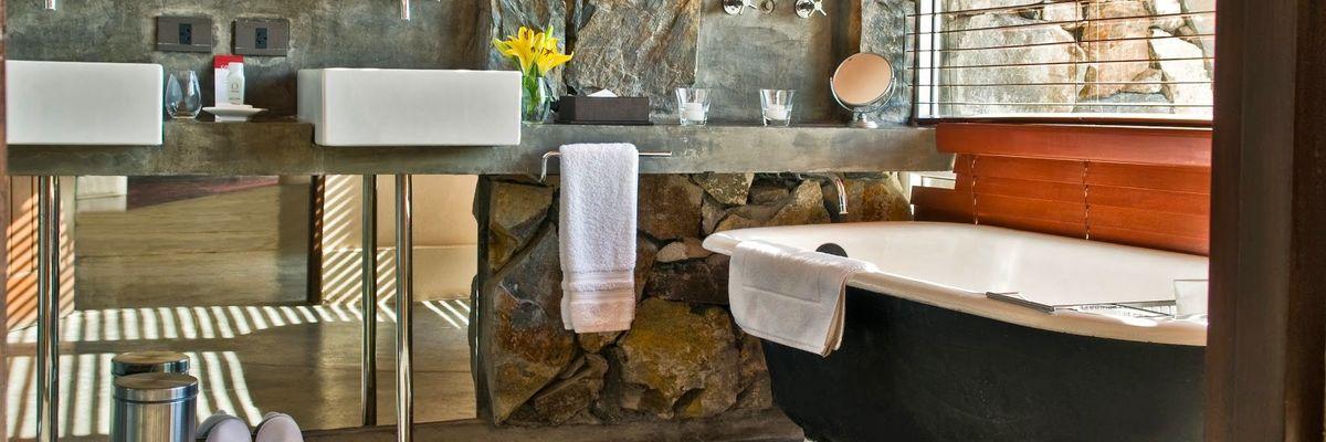 Bathroom, Cavas Wine Lodge, Mendoza
