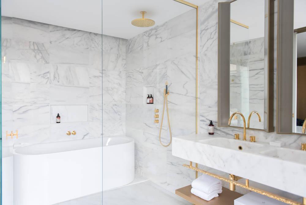 Bathroom, Terrace Suite